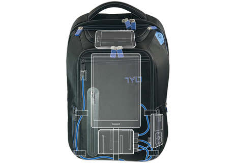 Powerful Charger Backpacks - TYLT's Energi+ Power Backpack Charges Three Devices on the Go