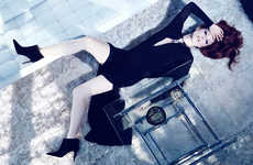 Sultry Celeb Photoshoots - The Edit 'Hollywood Heroine' Online Editorial Stars Julianne Moore