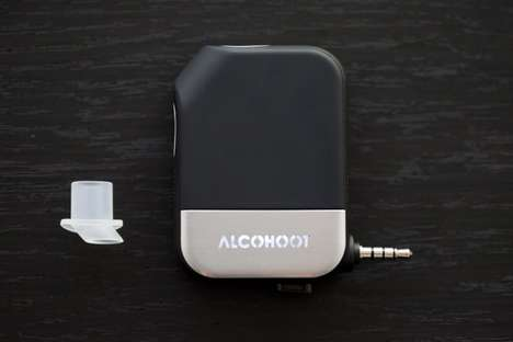 Smartphone Breathalyzers - Alcohoot Ensures People Keep Track of People's Blood Alcohol Levels