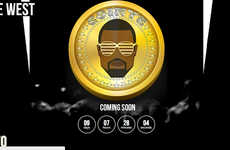 Computer-Generated Celebrity Currency - Coinye West is a New Online Currency, Sure to Change the Gam