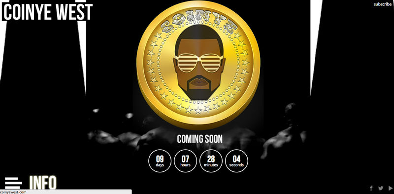 coinye west crypto currency charts