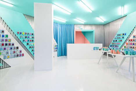 Pastel Tech Shops