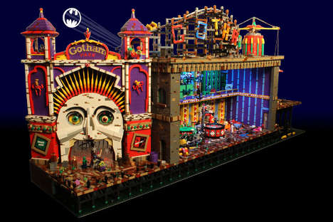 Supervillain Fun Houses