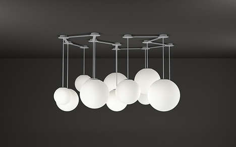 Cloud-Like Clustering Lamps