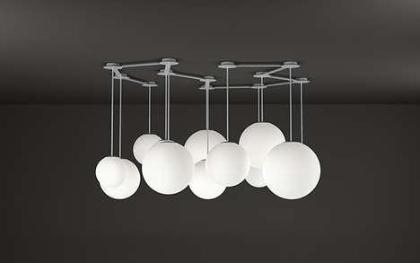 Cloud-Like Clustering Lamps