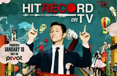Creative Crowdsourced TV Shows - HitRECord on TV Premieres January 18th on pivot (SPONSORED)