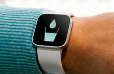 Handy Hydration Watches - The th2O Medical Bracelet is a Constant Reminder of Water Consumption
