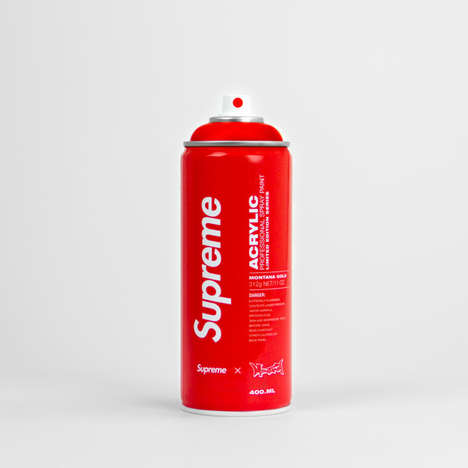 Iconic Brand Spray Cans