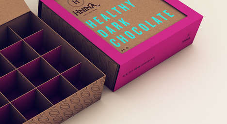 Bluntly Branded Boxes - Hnina Packaging Boldly States What the Consumer Wants to See