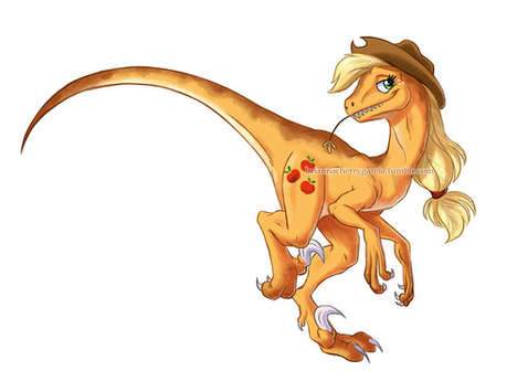 Pony Toy-Inspired Illustrations
