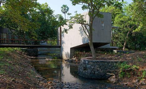 Boxy Cantilevered Residences