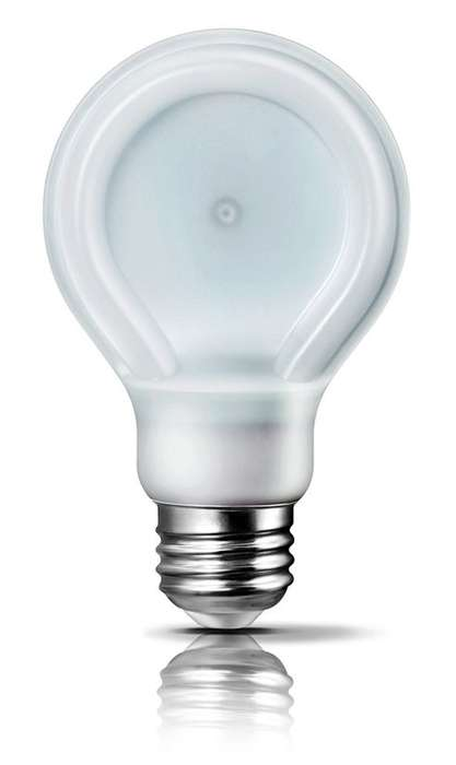 Slimming LED Light Bulbs - Phillips Introduces Energy Effiecent SlimStyle Light Bulbs