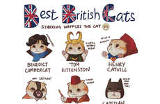 British Feline Fandom Shirts - This Cat Shirt Celebrates British Cult Fandom