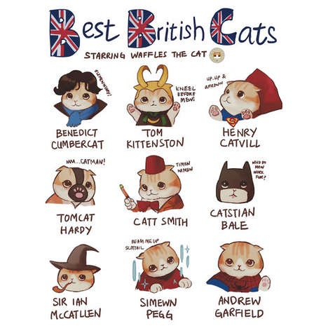 British Feline Fandom Shirts
