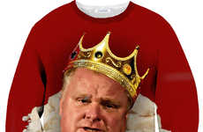 Hilarious Mayoral Majesty Shirts - This Rob Ford Shirt Will Show Who is the King of Narcotics