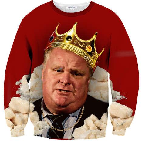 Hilarious Mayoral Majesty Shirts