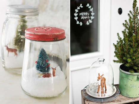 DIY Christmas Decor - These Christmas Cloches are an Easy Way to Decorate for the Holidays