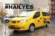 Reinvented Yellow Taxis - The Nissan Taxi of Tomorrow is the New Official Cab of NYC