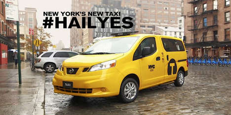 Reinvented Yellow Taxis