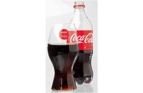 Stemware-Inspired Cups - The Coca-Cola + Riedel Glass was Sculpted to Enhance Beverage Enjoyment