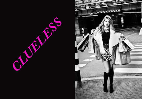 Teen Film-Inspired Photoshoots - Clueless by Janis Ann Channels Cher Horowitz's Style Sense