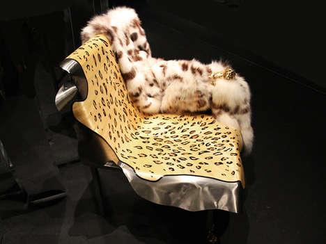 Exotic Animal-Inspired Seating