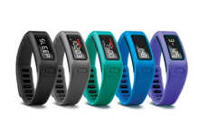 Waterproof Fitness-Tracking Bracelets - The Vivofit Will Help You Keep Your New Year's Resolutions