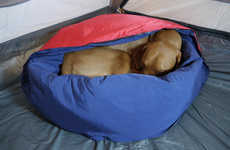 Canine Camping Beds - Noblecamper's Camping Dog Bed Keeps Pets Warm During Frigid Nights Outside