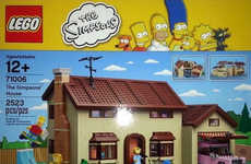 Classic Cartoon LEGO Sets - The Official Simspons LEGO Set Has Finally Been Created