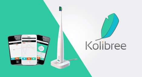 App-Controlled Power Toothbrushes - The Kalibree is Causing a Stir At CES 2014