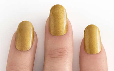 24 Carat Gold Manicures