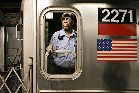 Subway Conductor Portraits