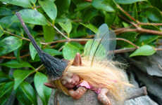 Sleeping Forest Fairy Figurines - These Handmade Fairies are Not Just for Young Children