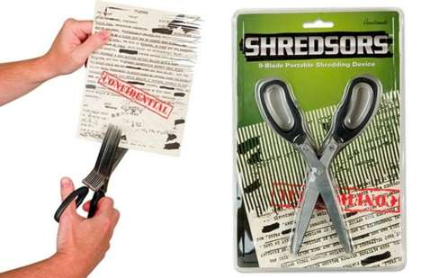 Multi-Bladed Shredding Devices