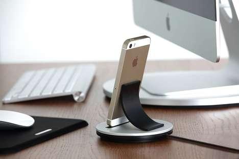Swooped Smartphone Docks