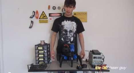 Laser-Enabled Toy Robots