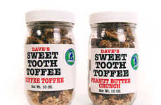 Homemade Toffee Treats - Dave's Sweet Tooth Boasts Natural Ingredients and Delicious Satisfaction