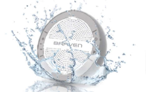 BRAVEN Mira Speakers Make a Splash at CES 2014
