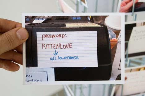 WiFi Password Postcards