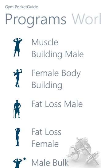 Encyclopedic Bodybuilding Apps