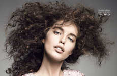 Bold Curly Mane Editorials