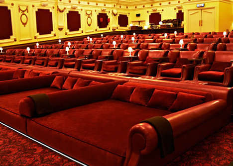 Bedroom-Themed Movie Theaters - The Electric Cinema Brings the Comfort of the Bedroom to Its Theater