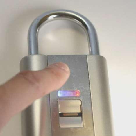 Fingerprint-Controlled Padlocks
