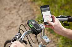 Subtle Biker GPS Systems - The Schwinn CycleNav Issues Audio Directions and Tracks Ride Data
