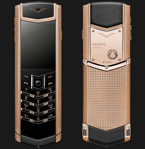 Sophisticated Rose Gold Phones