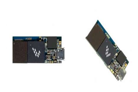 DIY Wearable Tech Kits - The WaRPboard Platform by Freescale is Being Demoed at CES 2014