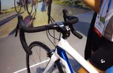 Smartphone-Charging Bicycles - The Samsung Galaxy Bike Was Revealed as a Prototype at the 2014 CES