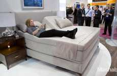 Sleep Quality-Tracking Beds - The Sleep Number x12 Smart Bed is Watching You Sleep at CES 2014