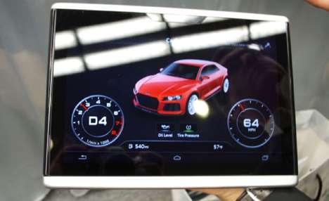 Vehicle-Navigating Tablets