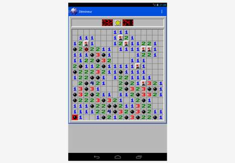 Retro Computer Game Apps - Minesweeper Smartphone App Brings Back the Long-Lost Explosive Logic Game